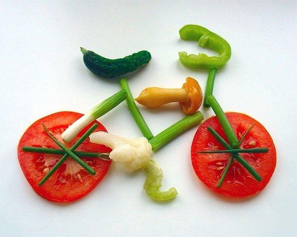 Вегетарианство и велосипед