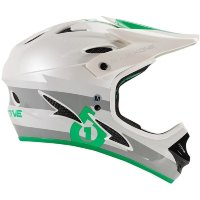 Шлем фулл 661 Sixsixone COMP BOLT HELMET GRAY/GREEN