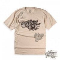 Футболка мужская Fox Counterfeit Heathered s/s Tee Khaki M