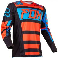 Мото джерси FOX 180 FALCON JERSEY black/orange
