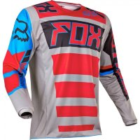 Мото джерси FOX 180 FALCON JERSEY grey/red