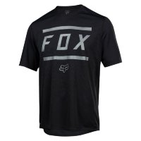 Вело джерси FOX RANGER SS BARS JERSEY Black