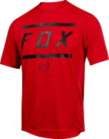 Вело джерси FOX RANGER SS BARS JERSEY Bright Red
