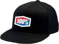 "Кепка 100 % ""ICON"" 210 Fitted Hat  Black SM/MD"