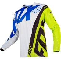 Мото джерси FOX 360 CREO JERSEY white/yellow