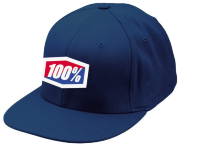 "Кепка 100 % ""ICON"" 210 Fitted Hat 100% Navy SM/MD"