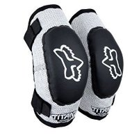 Детские налокотники FOX PeeWee Titan Elbow Guard [Black/Silver]