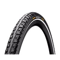 "Покрышка Continental RIDE Tour 26""x1.75, Extra Puncture Belt, черный"