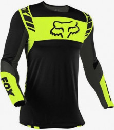 Мото джерси FOX FLEXAIR MACH ONE JERSEY [Black/Yellow]