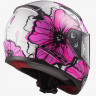 Мотошлем LS2 FF353 RAPID POPPIES, PINK -