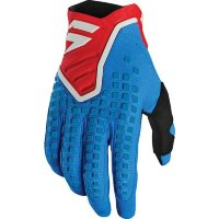 Мото перчатки SHIFT 3LACK PRO GLOVE [BLUE RED]
