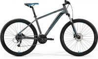 Велосипед Merida BIG.SEVEN 40-D MATT DARK SILVER(BLUE/BLK)