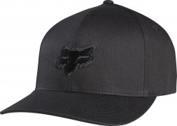 Кепка FOX Legacy Flexfit Hat [BLK/BLK]