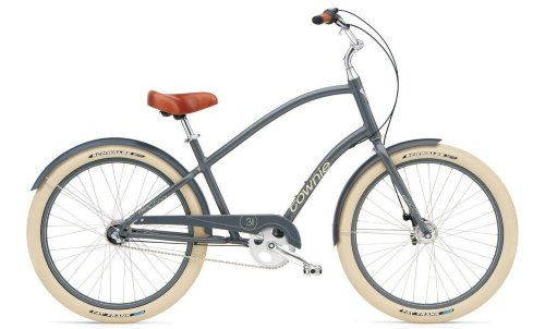 "Велосипед 26"" ELECTRA Townie Balloon 3i Men's slate"
