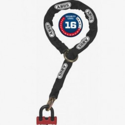 Замок із ланцюгом ABUS 67/10KS120 Granit Power XS Loop Chain Red
