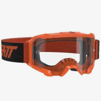 Мото очки LEATT Goggle Velocity 4.5 - Clear 83% [Neon Orange], Clear Lens