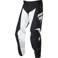 Детские мото штаны SHIFT YOUTH WHIT3 RACE PANT [BLACK WHITE]
