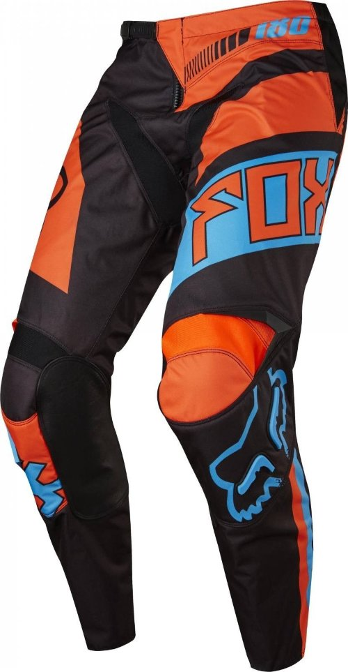 Мото штаны FOX 180 FALCON PANT black/orange