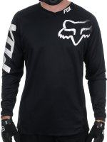 Мото джерси FOX BLACKOUT JERSEY Black