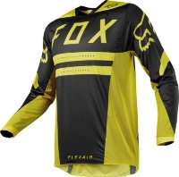 Мото джерси FOX FLEXAIR PREEST JERSEY Dark Yellow