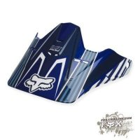 Запчасть Fox V1 Race Visor Blue No Size