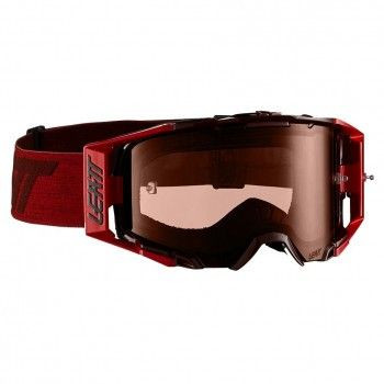 Мото очки LEATT GOGGLE VELOCITY 6.5 - ROSE 32% [Ruby/Red], Colored