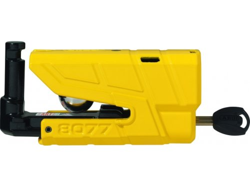 Мотозамок ABUS 8077/12KS120 Granit Detecto YELLOW 3800 г 1200 мм 12 мм