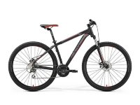 Велосипед Merida BIG.NINE 20-MD MATT BLACK(RED/SILVER)