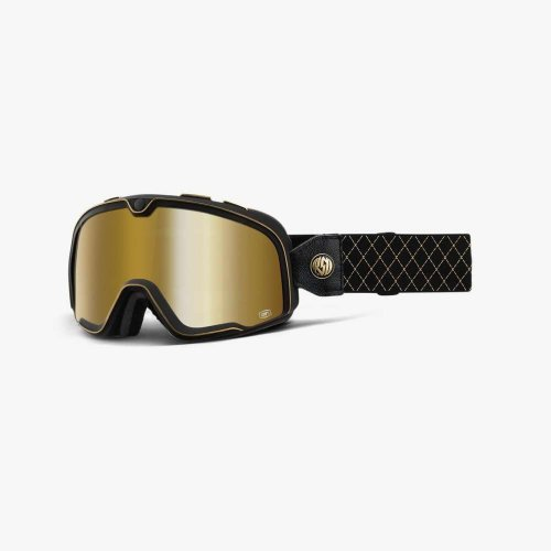 Мото очки 100% BARSTOW Goggle Roland Sands - True Gold Mirror Lens