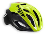 Шлем MET Rivale safety yellow/black