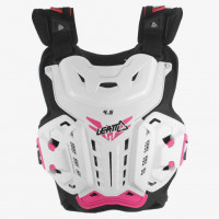 Мотозащита тела Chest Protector LEATT 4.5 Jacki [White/Pink], One Size