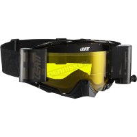 Мото очки LEATT GOGGLE VELOCITY 6.5 Roll-Off - YELLOW 65% [Black/Grey], Roll-Off