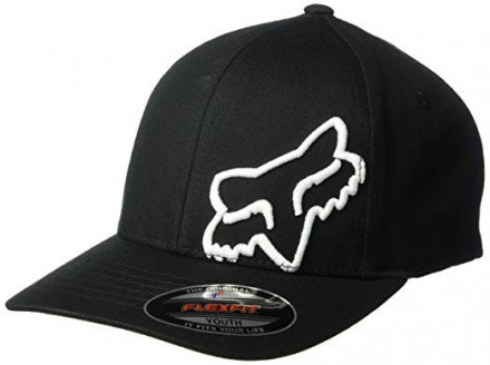 Кепка FOX FLEX 45 FLEXFIT HAT [BLACK WHITE]