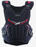 Мотозащита тела LEATT Chest Protector 3DF AirFit [Black/Red], One Size