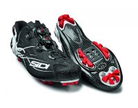 Велотуфли МТБ Sidi Tiger Carbon SRS Matt Black/White