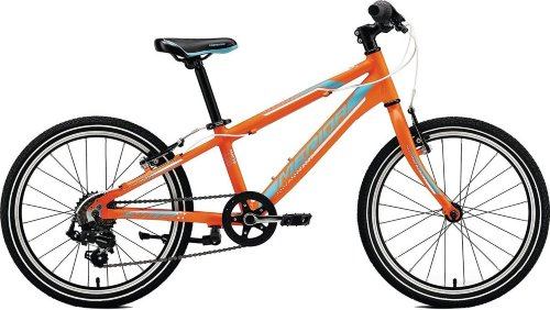 Велосипед Merida MATTS J20 RACE MATT ORANGE(BLUE/WHITE)
