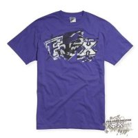 Футболка мужская Fox Archives s/s Tee PURPLE Medium