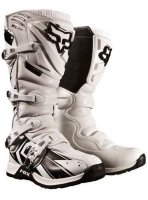 Мотоботы Fox COMP 5 UNDERTOW BOOT, Size 10, Colour WHITE