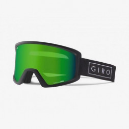 Маска зим. Giro Blok Flash чорн. Bar, Loden Green 26%