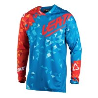 Мото джерси LEATT Jersey GPX 4.5 Lite Blue/Red