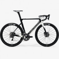 Велосипед MERIDA 2020 REACTO DISC 10K-E PEARL WHITE/GLOSSY BLACK