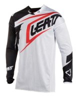 Мото джерси LEATT Jersey GPX 4.5 X-Flow White/Black