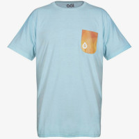 Футболка 661 Geo Pocket Tee Duck Egg Blue