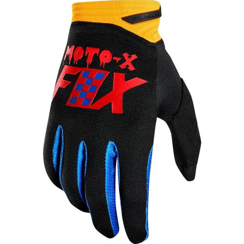 Мото перчатки FOX DIRTPAW CZAR GLOVE [BLK/YLW]