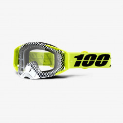 Мото очки 100% RACECRAFT Goggle Andre - Clear Lens, Clear Lens