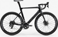 Велосипед MERIDA 2020 REACTO DISC FORCE EDITION GLOSSY BLACK/GILTTERY SILVER