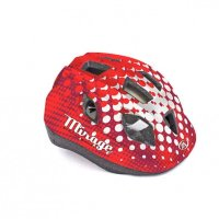 Шлем Author Mirage Inmold 52-56cm (168 red/white)