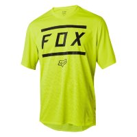 Вело джерси FOX RANGER SS BARS JERSEY Yellow/Black