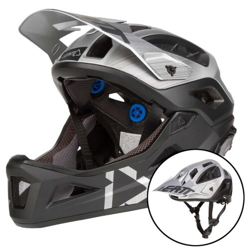Вело шлем LEATT Helmet DBX 3.0 Enduro [Brushed]