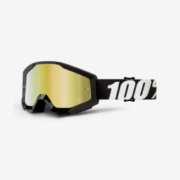 Мото очки 100% STRATA Goggle Outlaw - Mirror Gold Lens, Mirror Lens
